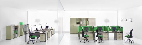 Wnętrze nowożytni biura Fotografia Royalty Free