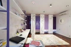 Wnętrze nowożytny mieszkanie Zdjęcie Royalty Free