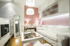 Wnętrze nowożytny nastoletni pokój Fotografia Stock