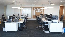 Wnętrze Nowożytny Otwiera planu biuro Bez ludzi zdjęcia royalty free