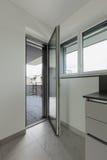 Wnętrze nowy mieszkanie, szczegół Fotografia Royalty Free