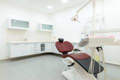 Wnętrze nowy nowożytny stomatologiczny kliniki biura pokój Zdjęcia Stock