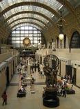 Wnętrze Orsay muzeum w Paryż obrazy stock