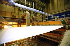Papierowa fabryka zdjęcie stock