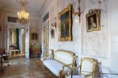 Wnętrze Pavlovsk pałac, Rosyjska Cesarska siedziba, nea Zdjęcie Royalty Free