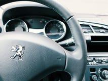 Wnętrze Peugeot 3008 zdjęcia stock