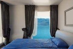 Wnętrze, piękni nowożytni apartmen Fotografia Royalty Free