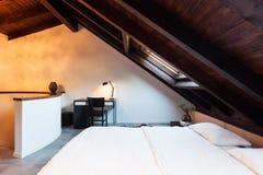Wnętrze, piękny loft Obrazy Royalty Free