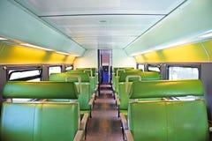 wnętrze pociąg Fotografia Stock