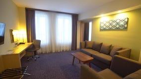 Wnętrze pokój hotelowy, żywy pokój zdjęcie wideo