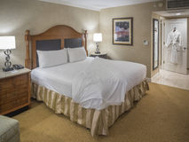Wnętrze pokój hotelowy dla dwa Zdjęcie Royalty Free