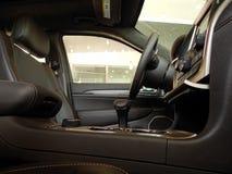 Wnętrze premii klasy samochód Obraz Stock