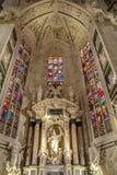 Wnętrze przy Mediolańską katedrą Fotografia Stock