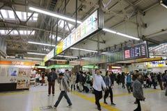 Wnętrze przy Ueno stacją przy 2016 Zdjęcie Stock