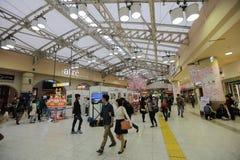 Wnętrze przy Ueno stacją przy 2016 Fotografia Stock
