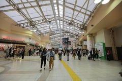 Wnętrze przy Ueno stacją przy 2016 Zdjęcie Royalty Free