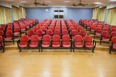 Wnętrze pusta sala konferencyjna fotografia stock