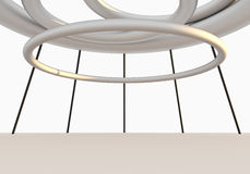 Wnętrze Pusta struktura Obraz Stock