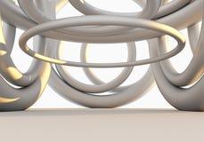 Wnętrze Pusta struktura Zdjęcie Stock