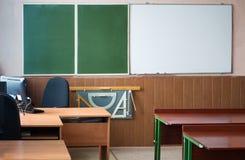 Wnętrze pusta szkolna klasa obrazy stock