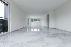 Wnętrze pusty mieszkanie obraz royalty free