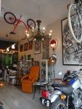 Wnętrze Reykjavik sklep w Iceland zdjęcie stock