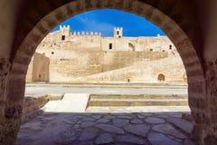 Wnętrze Ribat w Monastir, Tunezja zdjęcie stock