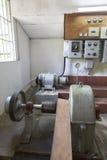 Wnętrze rocznika kawowy przemysł w Kolumbia Fotografia Stock