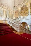 Wnętrze Rundale pałac Obrazy Royalty Free