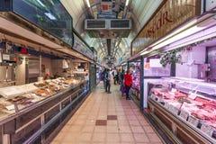 Wnętrze rynek w Zaragoza Obraz Stock