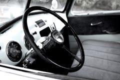 Wnętrze 1950's chevy ciężarówka zdjęcie stock