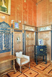 Wnętrze salonu pokój w Vorontsov pałac Fotografia Royalty Free