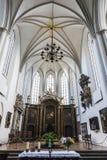 Wnętrze St Maryjny kościelny Marienkirche w Berlin, Niemcy Obrazy Stock