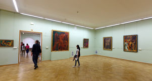 Wnętrze Stan Erem. Świątobliwy Petersburg Zdjęcia Royalty Free