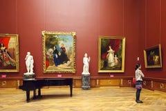 Wnętrze stanu Rosyjski muzeum w St Petersburg, Rosja Zdjęcia Royalty Free