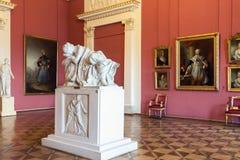 Wnętrze stanu Rosyjski muzeum w St Petersburg, Rosja Obraz Royalty Free