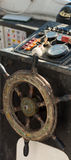 Wnętrze Stara łódź rybacka Zdjęcie Royalty Free