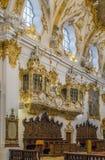 Wnętrze Stara kaplica, Regensburg, Niemcy Zdjęcia Stock