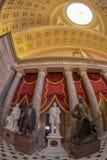 Wnętrze Statuaryczny Hall w USA Capitol budynku, Washington obraz royalty free