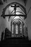 Wnętrze Stiftskirche Uczelniany kościół Obraz Royalty Free
