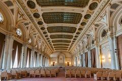 Wnętrze strzelający z pałac parlament Zdjęcie Royalty Free