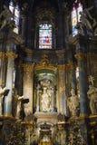 Wnętrze Sts Peter i Paul garnizonu kościół Obrazy Stock