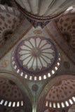 Wnętrze sułtanu Ahmed meczet lub błękitny meczet w Istanbuł, Obrazy Stock