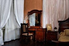 Wnętrze sypialnia obraz stock