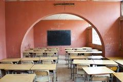 Wnętrze szkoła w Afryka Zdjęcia Royalty Free