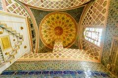 Wnętrze Topkapi pałac Zdjęcie Stock