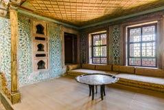 Wnętrze Topkapi pałac Fotografia Stock