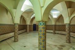 Wnętrze tradycyjny marokański skąpanie Fotografia Stock