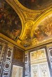 Wnętrze Versaille pałac Zdjęcie Stock