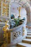 Wnętrze Vladimir pałac Ja był ostatnim cesarskim pałac Fotografia Stock